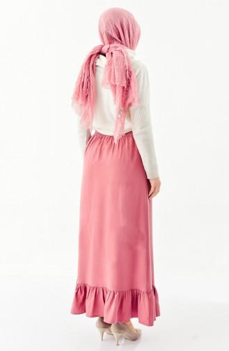 DURAN Ruffled Skirt 1075-03 Dried Rose 1075-03