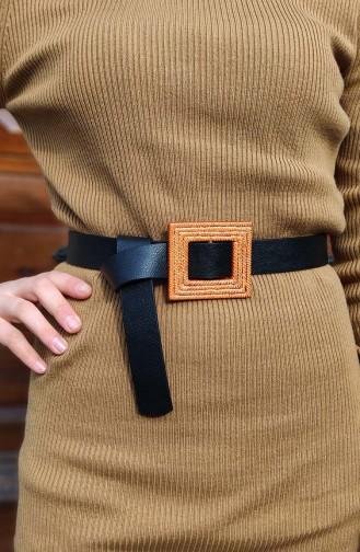 Women´s Belt DRM03-01 Black 03-01