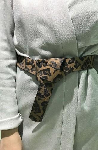 Women´s Leopard  Belt IM01-02 Brown 01-02