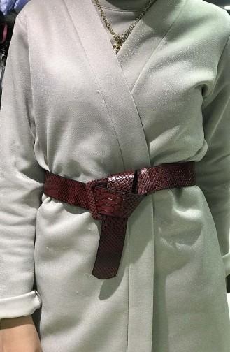 Women´s Belt İM01-03 Burgundy 01-03