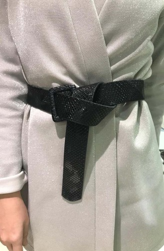 Women´s Belt IM01-04 Black 01-04