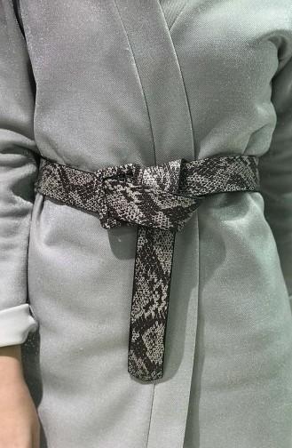 Women´s Snake skin Belt IM01-07 Mink 01-07