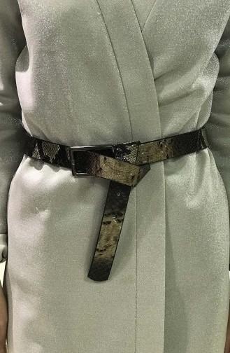 حزام خصر للنساء  IM05-08 لون بني داكن 05-08