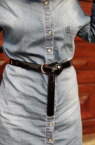 Women´s Belt KL01 Black 01