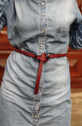 Women´s Belts KL05-02 Burgundy 05-02