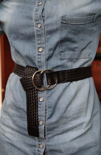 Women´s Belt KL08 Black 08