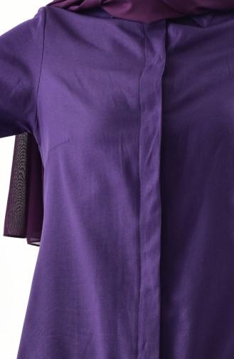 Purple Overhemdblouse 0694-10