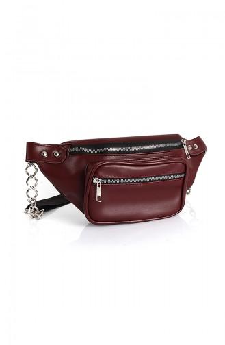 Women´s Waist Bag Bs10516Bo Claret red 10516BO