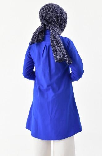 Tunique Chemise 0694-08 Bleu Roi 0694-08