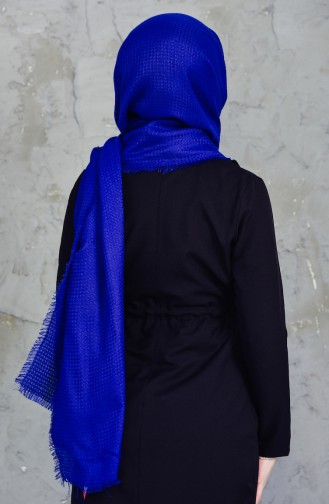 Akel Plain Square Box Winter Shawl 001-213-2 Saks 001-213-2