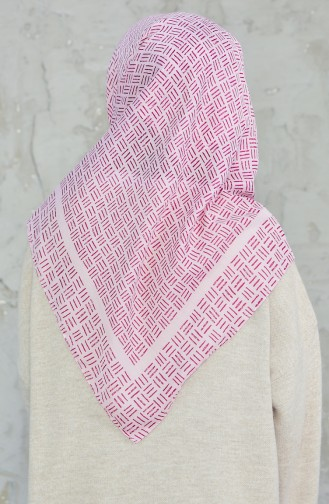 Akel Cheesecloth Scarf 001-396B-15 Rose Dry 001-396B-15