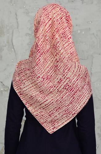 Akel Headscarf 001-396D-21 Tile Red 001-396D-21