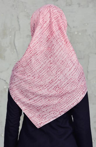 Akel Cheesecloth Scarf 001-396D-25 Rose Dry 001-396D-25