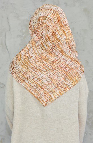 Akel Cheesecloth Scarf 001-396D-26 Oil Green Tile 001-396D-26