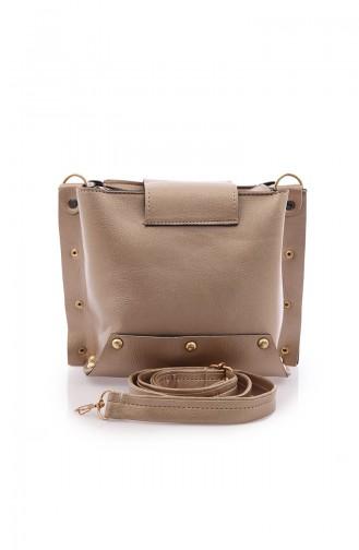 Stilgo Women´s Shoulder Bag Pls109-04 Gold 109-04