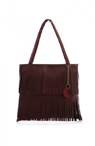 Stilgo Women´s Shoulder Bag Ak04Z-06 Claret Red 04Z-06