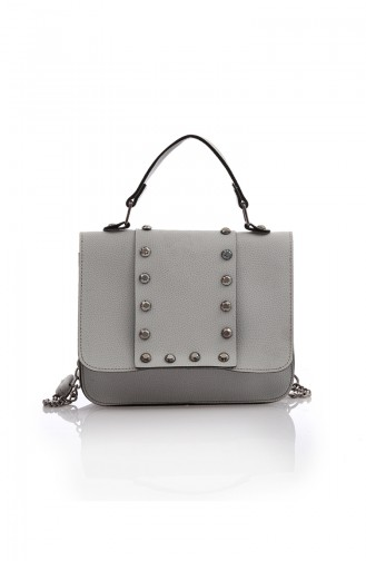 Stilgo Women´s Shoulder And Handbag Pls105Z-01 Gray 105Z-01