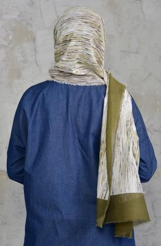 U.s Polo Assn. Cotton Shawl 2545-03 Khaki Mink 2545-03