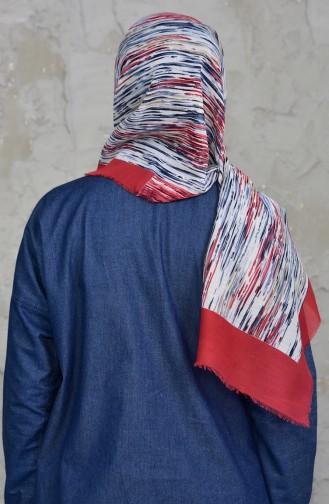 U.s Polo Assn. Cotton Shawl 2545-12 Red Indigo 2545-12