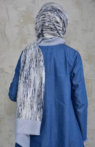 U.s Polo Assn. Cotton Shawl 2545-14 Gray Beige 2545-14