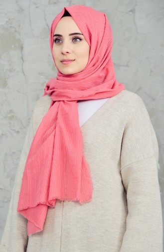 U.S POLO ASSN. Cut Cotton Shawl 2550-3790 Dried Rose 2550-3790