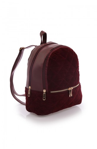 Stilgo Women Shoulder Bag AV10Z-02 Claret Red 10Z-02