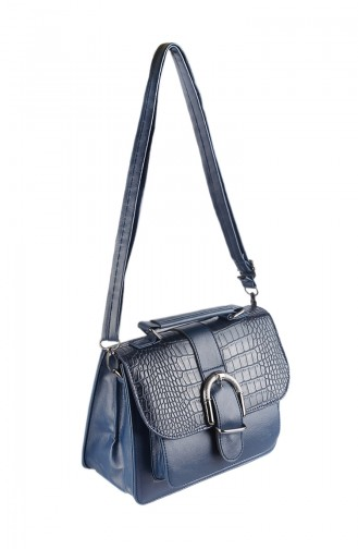 Women Shoulder Bag 42336-02 Navy Blue 42336-02