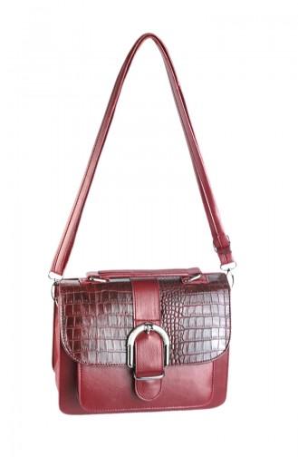 Women Shoulder Bag 42336-03 Claret Red 42336-03