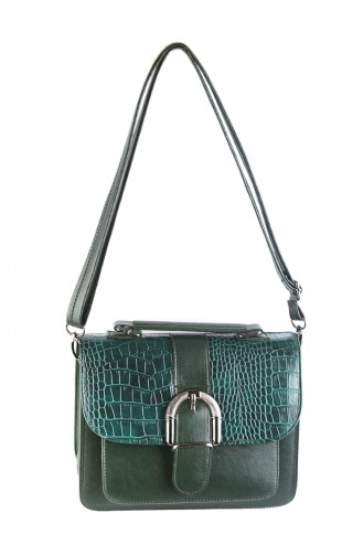 Women Shoulder Bag 42336-07 Green 42336-07