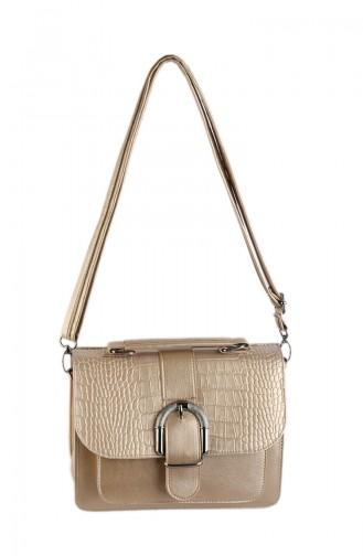 Women Shoulder Bag 42336-09 Gold 42336-09
