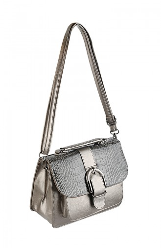 Women Shoulder Bag 42336-11 Platinum 42336-11