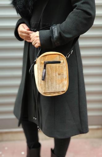 Women Cross Handbag U0005-02 Mustard Yellow 0005-02