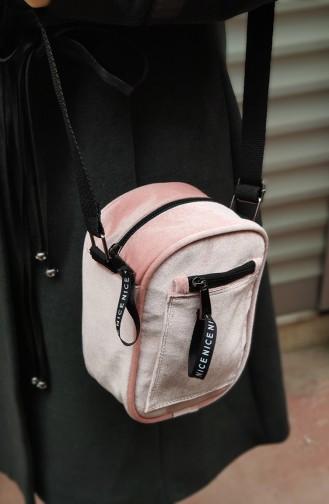Women Cross Handbag U0005-03 Pink 0005-03