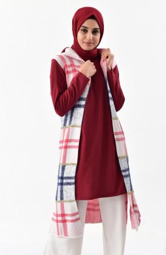 Hooded Knitwear Vest 8097-05 Light Beige 8097-05