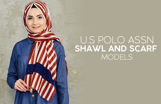 U.S POLO ASSN Shawl Models