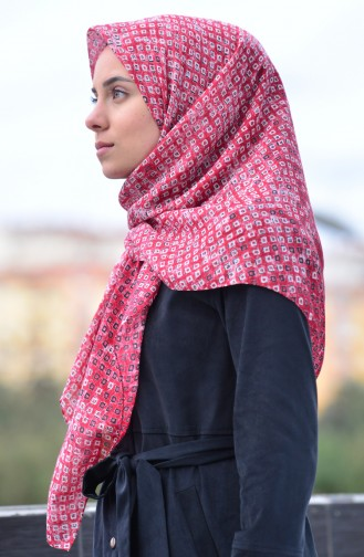 Akel Cheeseclose Scarf 001-396C-20 Red  Claret Red  001-396C-20