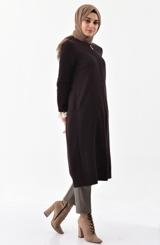 Zippered Cape 7315-05 Brown 7315-05