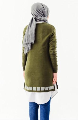 Knitwear Pearl Tunic 2129-01 Khaki 2129-01