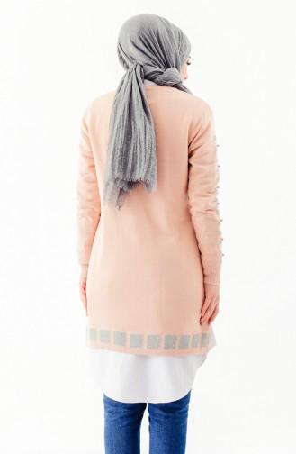 Knitwear Pearl Tunic 2129-05 Salmon 2129-05