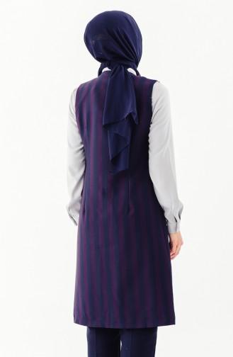 Navy Blue Vest 0110-04