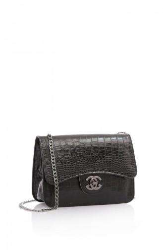 Stilgo Women´s Shoulder Bag Tl66Z-01 Black 66Z-01