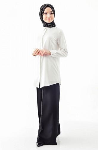 Kemerli Pantolon Etek 31243-01 Siyah 31243-01
