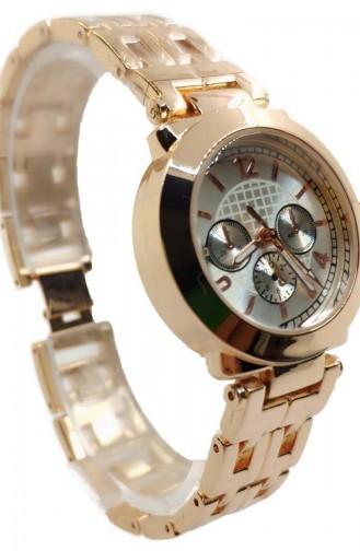 Ricardo Women´s Metal Wrist Watch Rcd01-03 Gold Rose 01-03