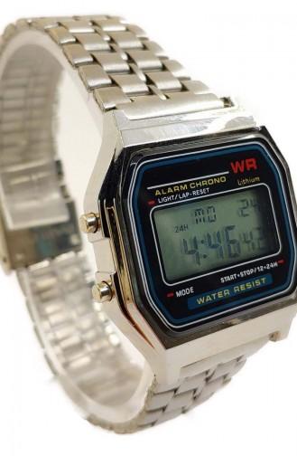 ريكاردو ساعة يد نسائية بتصميم معدن RCD05-02 لون فضي 05-02