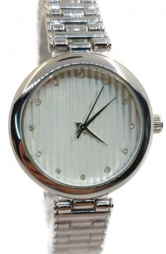 ريكاردو ساعة يد نسائية بتصميم معدن RCD07-01 لون فضي 07-01
