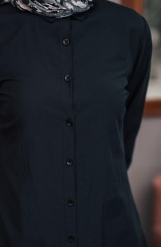 Buttoned Tunic 8203-10 Black 8203-10