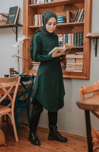 Tunique Vert emeraude 2501-01