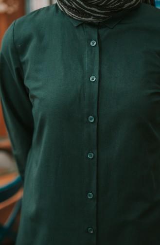 تونيك أخضر زمردي 2514-14