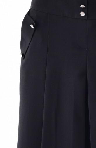 Pleated Pants Skirt 31246-01 Black 31246-01