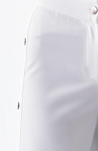 Pantalon 3130-01 Blanc 3130-01